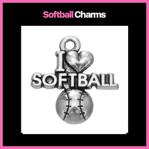 Softball Charms