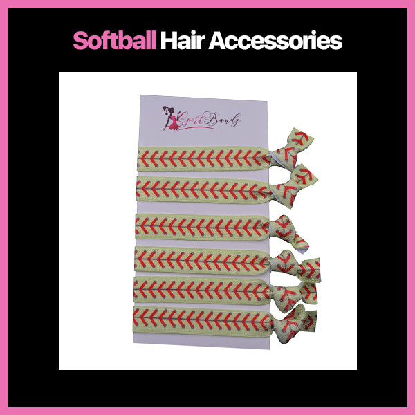 Softball Hair Accessories