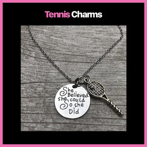 Tennis Charms