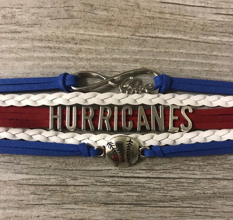 custom softball bracelet