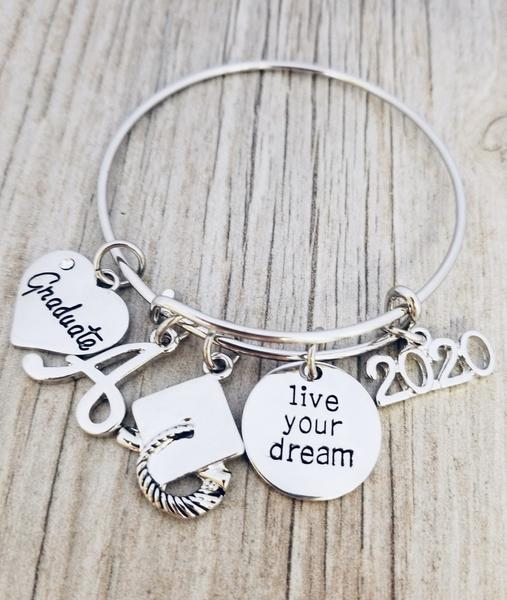 2020 graduation bracelet for girls