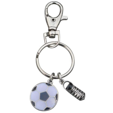Soccer Ball & Cleat Keychain - Sportybella