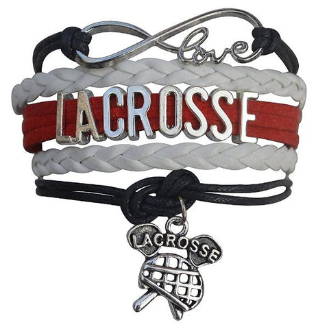 Girls Infinity Lacrosse Gift Set (Bracelet & Headbands)