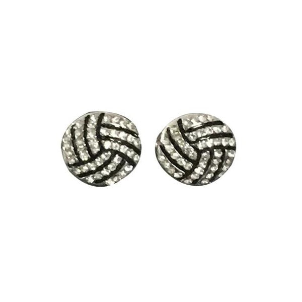 Volleyball Earrings- Girls Volleyball Jewelry - Volleyball Gift for Players & Teams
