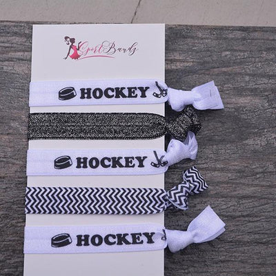 Ice Hockey Hair Ties - Sportybella