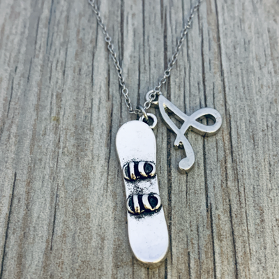 snowboard necklace for girls