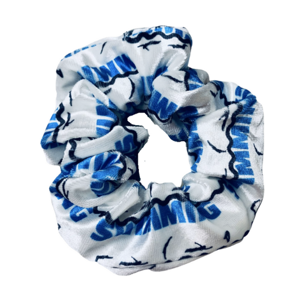 Swim Scrunchie - Premium Velvet Hair Accessories