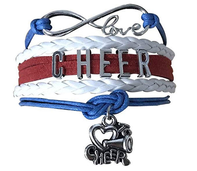 Love to Cheer Bracelet - Pick Team Colors