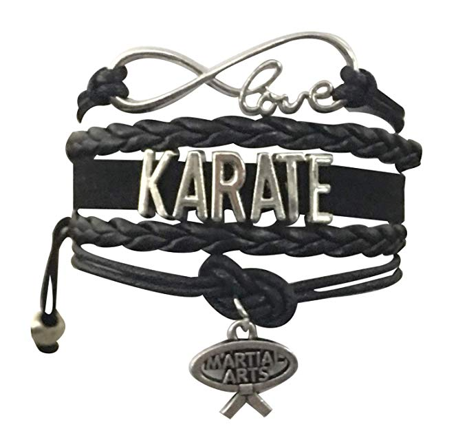 Karate Black Belt Bracelet