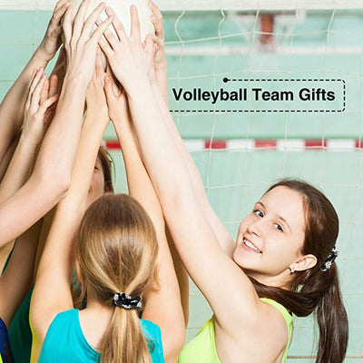 Girls Volleyball Hair Ties -Yellow