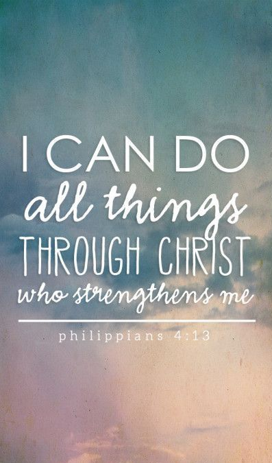 Dance Christian I Can Do All Things Through Christ Keychain