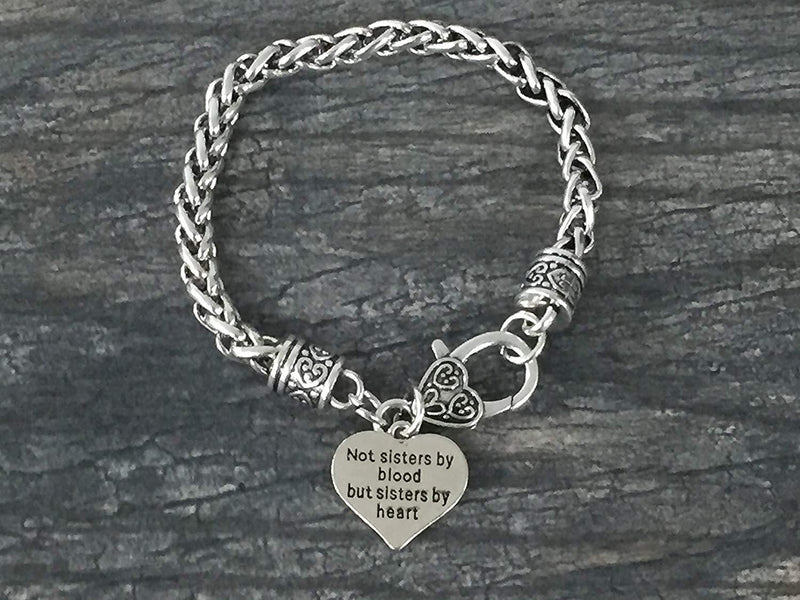 Best Friends Bracelet- Not Sisters By Blood But Sisters By Heart Bracelet - Sportybella