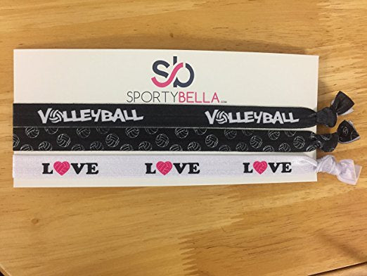 Love Volleyball Headbands - Sportybella