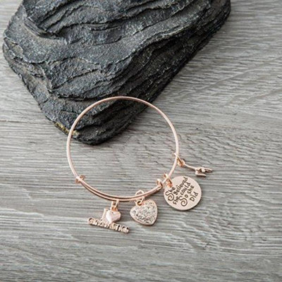 rose gold gymnastics bracelet