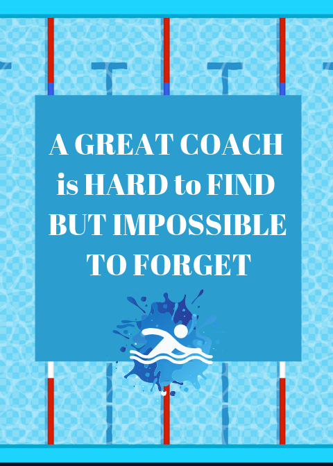 Swim Coach Card