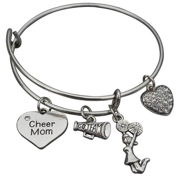 Cheer Mom Bangle Bracelet - Sportybella