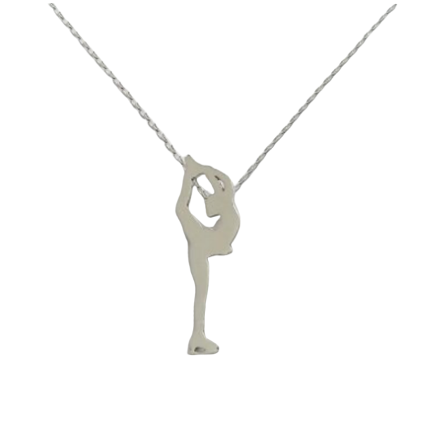 Figure Skating Charm Necklace
