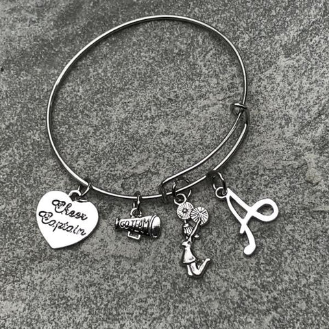 Cheer Bangle Bracelet for Cheerleaders