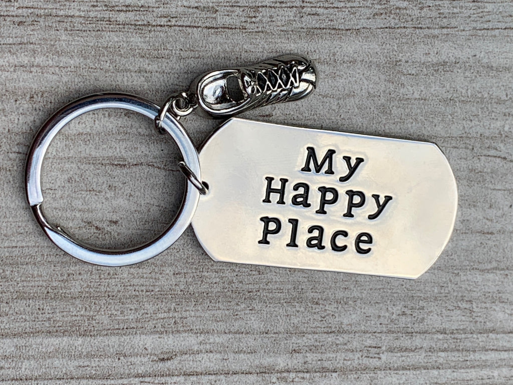Running Keychain- My Favorite Place