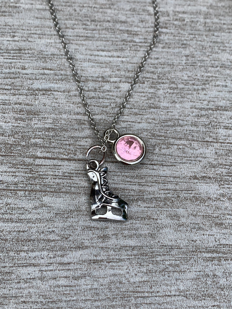Personalized Figure Skating Necklace