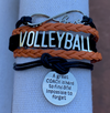 Volleyball Great Coach is Hard to Find  Bracelet - Pick Your Team Colors