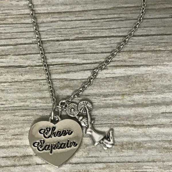 Cheer Captain Necklace - Sportybella