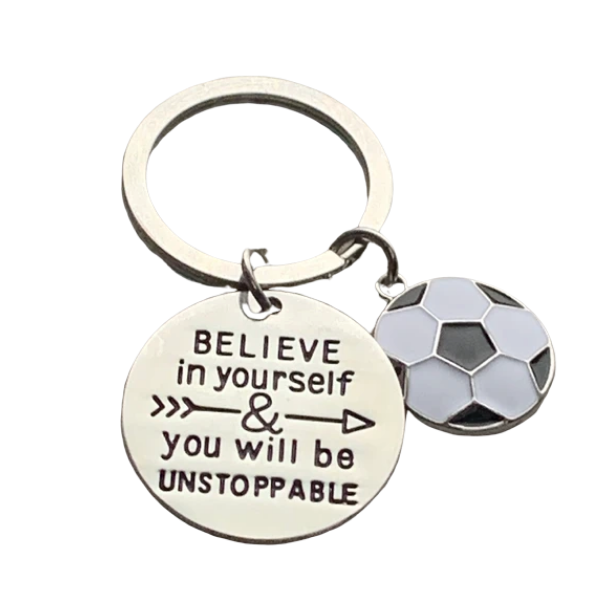 Soccer Believe in Yourself & You Will Be Unstoppable
