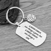 Volleyball Coach Keychain, A Good Coach Can Change a Game But a Great Coach Can Change a Life Keychain