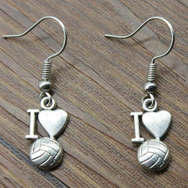 Love Volleyball Earrings