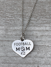 Personalized Engraved Football Mom Necklace