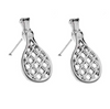 Tennis Racket Stud Earrings