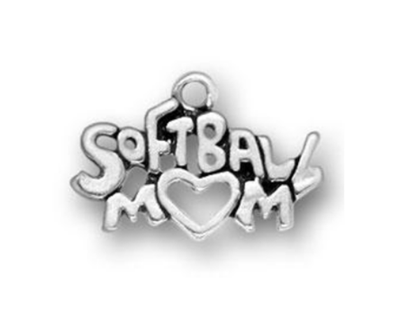 Softball Mom Charm