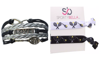 Tennis Bracelet & Hair Tie Set