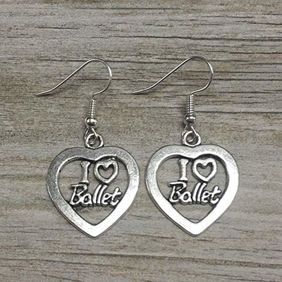 Love Ballet Dangle Earrings