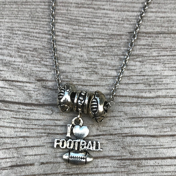 Love Football Necklace