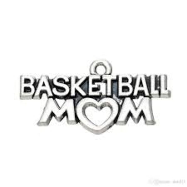 Basketball Mom Charm - Sportybella
