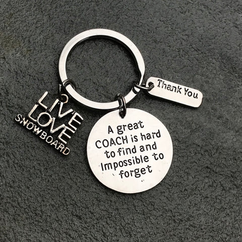 Band She Believed She Could So She Did Keychain