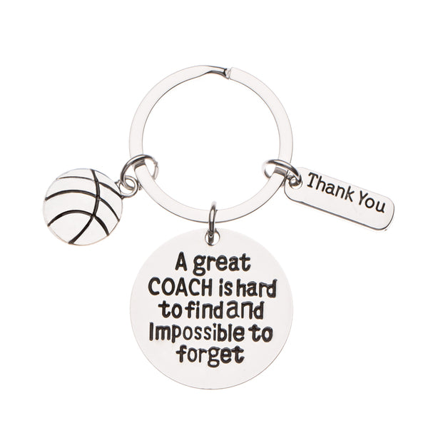 Basketball Great Coach is Hard to Find Coach Keychain