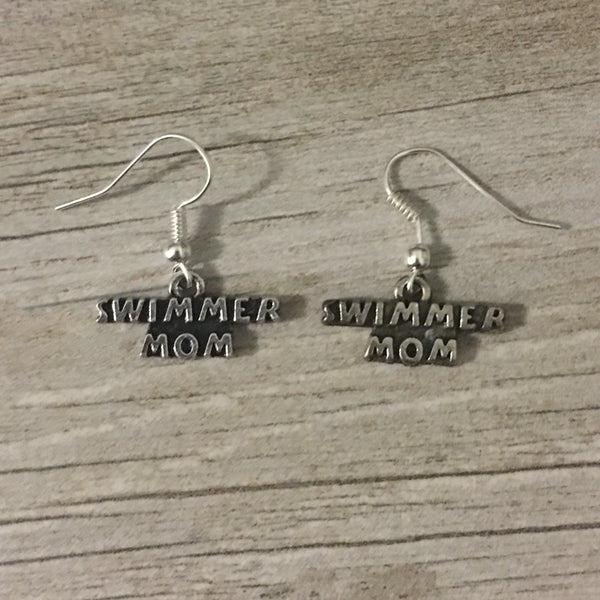 Swim Mom Earrings
