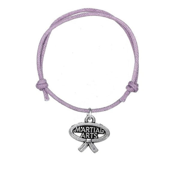 Karate - Martial Arts Purple Bracelet