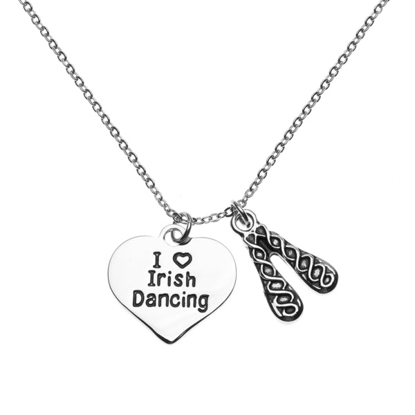 Irish Dance Necklace