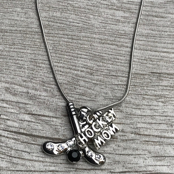 Ice Hockey Mom Necklace