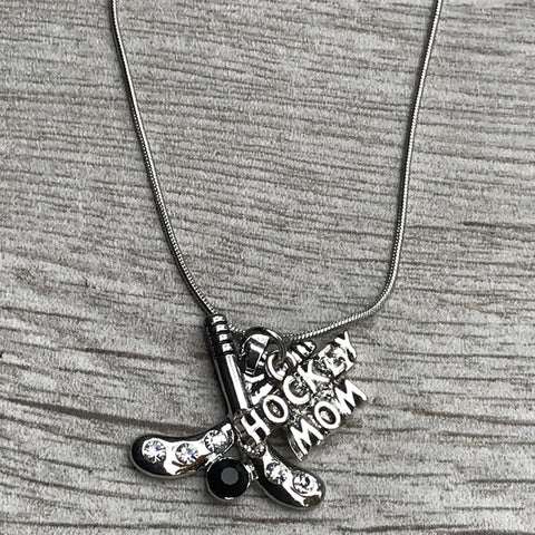 Personalized Girls Gymnastics Necklace with Letter Charm