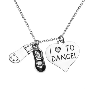 Tap Dance Necklace