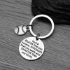 Baseball You're Braver than you Believe Inspirational Keychain - Sportybella