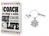 5 Cheer FOB Wristlet Keychain Bundle- Black