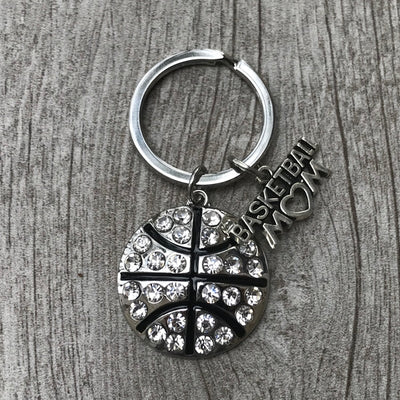 Basketball Mom Keychain - Sportybella
