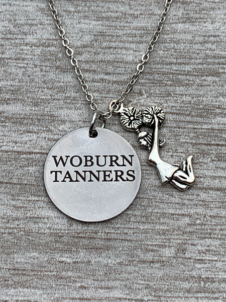 Personalized Engraved Cheer Necklace