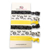 Copy of Girls Volleyball Hair Ties -Yellow - Sportybella