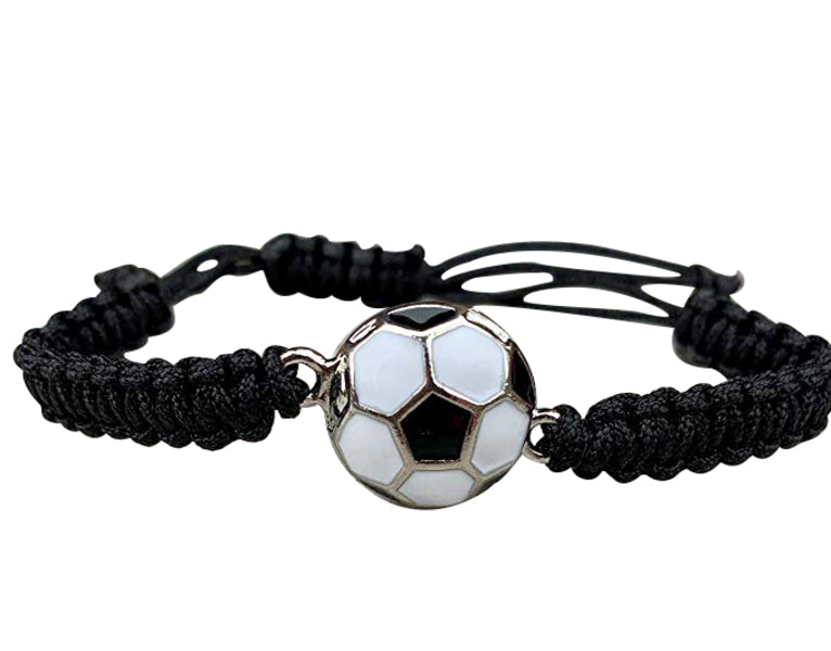 Soccer Adjustable Bracelet - Pick Color